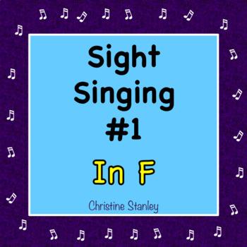 Chorus Sight Singing #1 in F ♫ ♫ ♫ ♫ ♫ (Sight Reading)