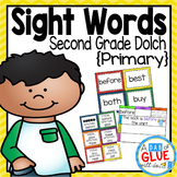 Sight Word Activities, Centers, and Word Wall: Dolch Secon