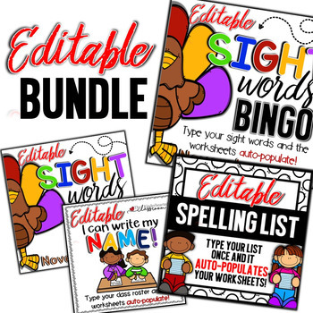 Sight Word Activities Games and more!!! Bundle