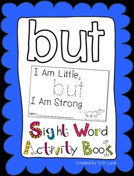 """Sight Word Activity Book: """"But"""""""