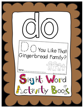 "Sight Word Activity Book: ""Do"""