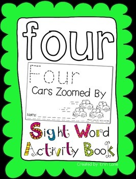 """Sight Word Activity Book: """"Four"""""""