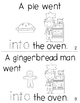 "Sight Word Activity Book: ""Into"""