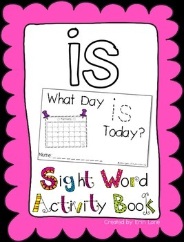 "Sight Word Activity Book: ""Is"""