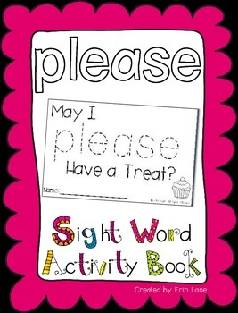 "Sight Word Activity Book: ""Please"""