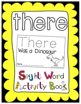 "Sight Word Activity Book: ""There"""