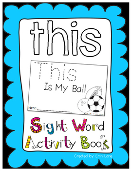"Sight Word Activity Book: ""This"""