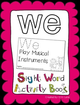 "Sight Word Activity Book: ""We"""