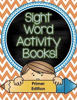Sight Word Activity Books (Primer)