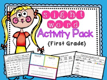 Sight Word Activity Pack { First Grade }