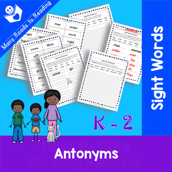Sight Word Antonyms: Grades K-2