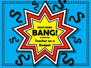 Sight Word Bang 1 to 5