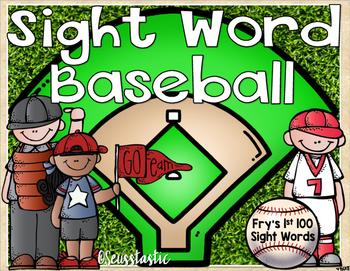 Sight Word Baseball (Fry's 1st 100)