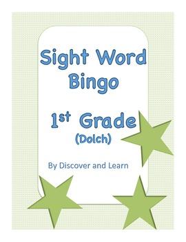 Sight Word Bingo: 1st grade (Dolch)