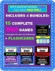 Fry's Instant Words 1-300 BUNDLE - 15 Bingo Games + FLASHCARDS