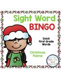Sight Word Bingo {Dolch First Grade} Christmas Theme