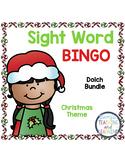 Sight Word Bingo {Dolch Bundle} Christmas Theme