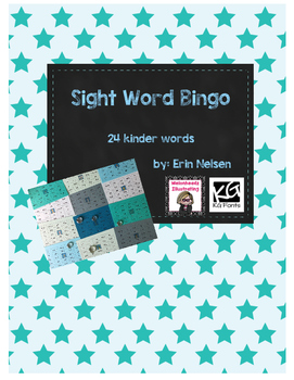 Sight Word Bingo Kinder