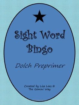 Sight Word Bingo- Preprimer