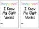 Sight Word Book: 25 Word List
