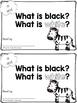 Sight Word Book - BLACK