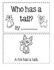 Sight Word Book: Has
