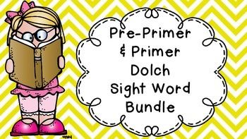 Sight Word Book (Pre & Primer Dolch Words)