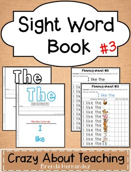 Sight Word Book-The