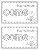 Sight Word Book (come)