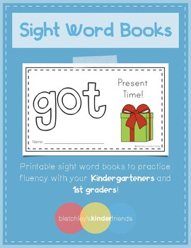 Sight Word Book (got) *FREEBIE*