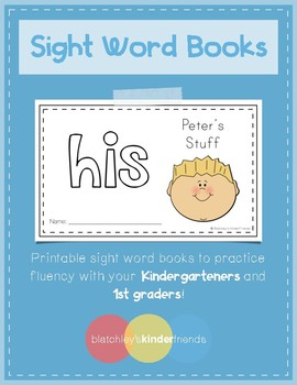 Sight Word Book (his)