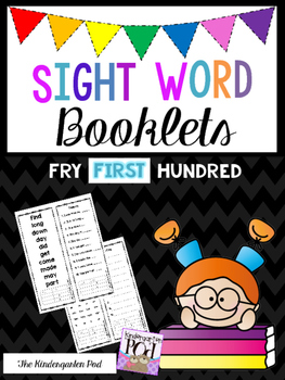 Sight Word Booklets - First Hundred Fry Words