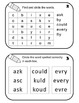 Sight Word Booklets and More 1st Grade