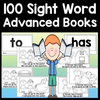 Advanced Sight Word Books | Sight Words First Grade {100 Books!}