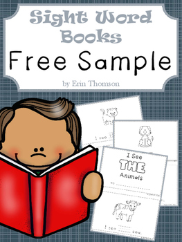 Sight Word Books ~ FREE SAMPLE