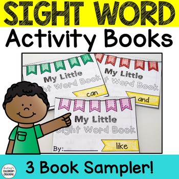Sight Word Books ~ Interactive Readers for K & 1st Grade ~