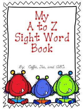 Sight Word Books: Reading and Writing / Letter Ff