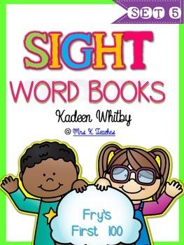 Sight Word Books Set 5