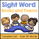 Sight Word Books and Poems - The Complete Set