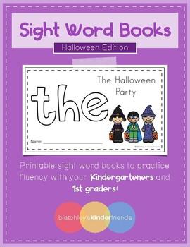 Sight Word Books (the) *Halloween Edition*