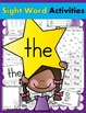 Sight Word BUNDLE #1 (like, the, and, see, we, to, go, a,