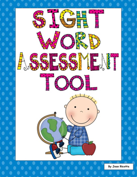 Sight Word Assessment Tool