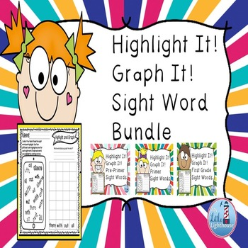 Sight Word Bundle  (Highlight and Graph )