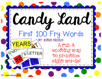 Candy Land Sight Words