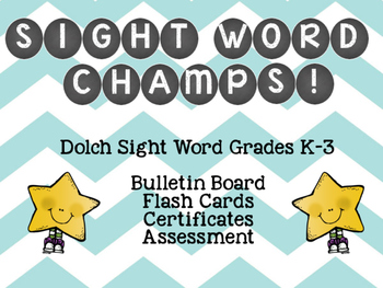 Sight Word Champs