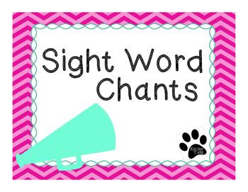 Sight Word Chants