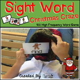 "Sight Word Activities ""Christmas Craze!"" - 100 Sight Words"