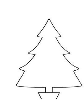Sight Word Christmas Tree
