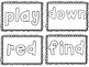 Sight Word Coloring Flash Cards ~ 220 words!