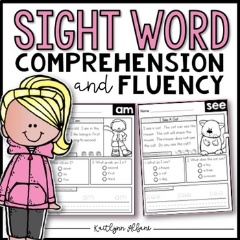 Sight Word Comprehension and Fluency Practice